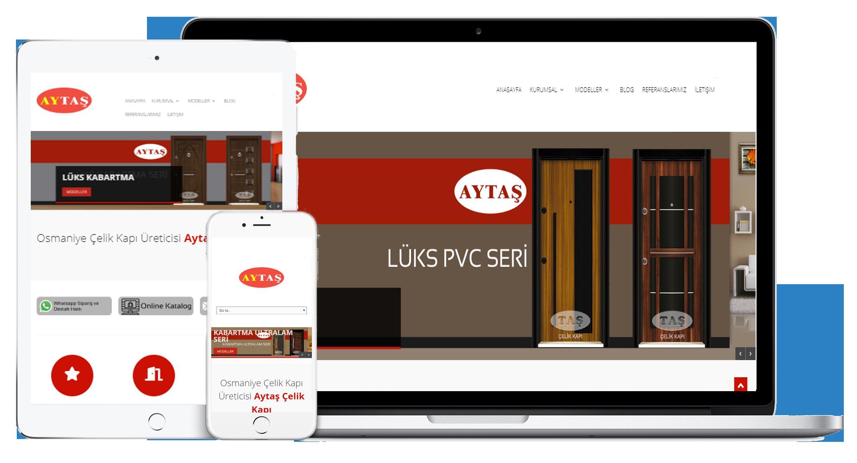 Aytaş Çelik Kapı Web Sitesi Yayında