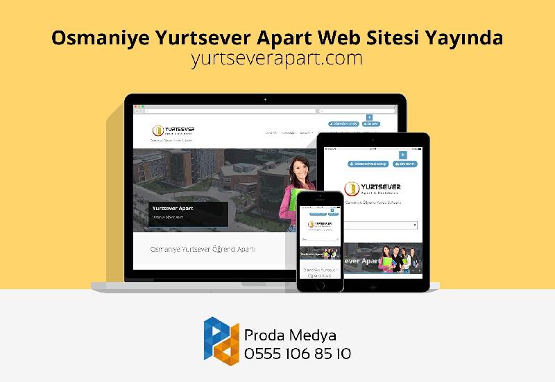 Osmaniye Yurtsever Apart Web Sitesi Yeni Tasarımı İle Yayında